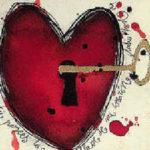 La pesada puerta mi corazon se abrio...