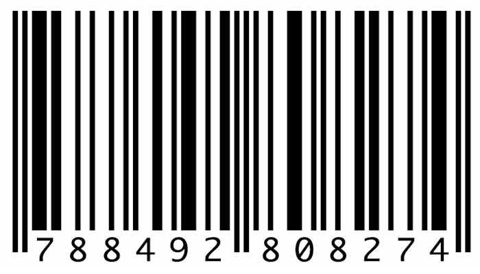 tu nombre en codigo de barras