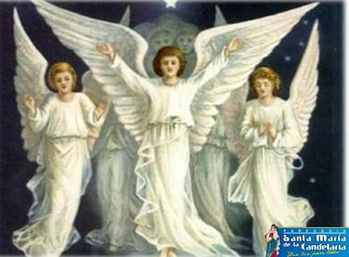 Coro de los angeles propiamente dicho o angeles custodios