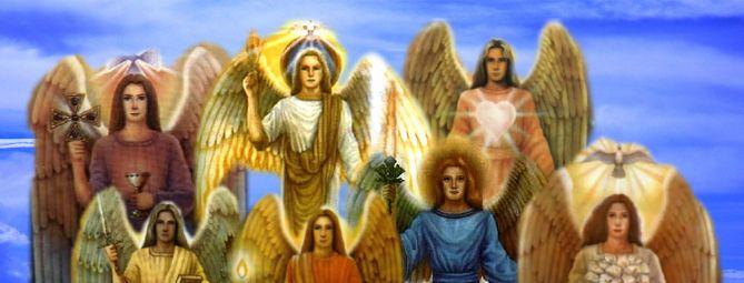 Coro angelico de los Arcangeles