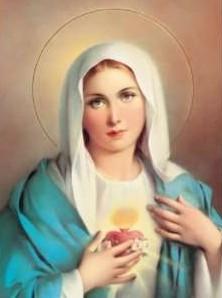 Advocaciones marianas. El corazon de Maria