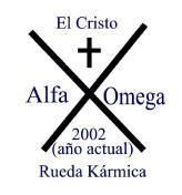 Alfa Omega en el cirio pascual
