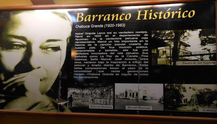 Brinda Mair en Miraflores