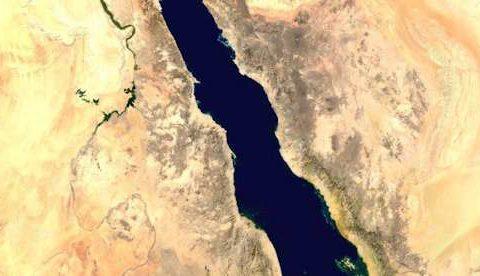 Como cruzaron los israelitas al Mar Rojo