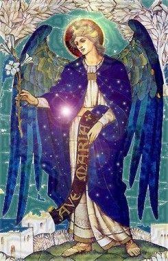 El arcangel Gabriel es simbolo de Misericordia