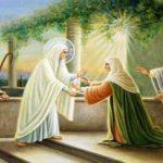 Visitacion de la Virgen Maria a su prima Santa Isabel