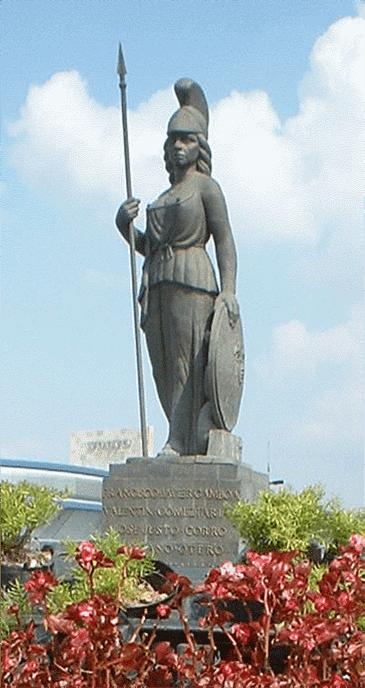 Minerva, diosa de la Sabiduria