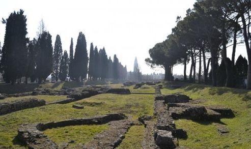 Aquileia: ruinas puerto fluvial romano