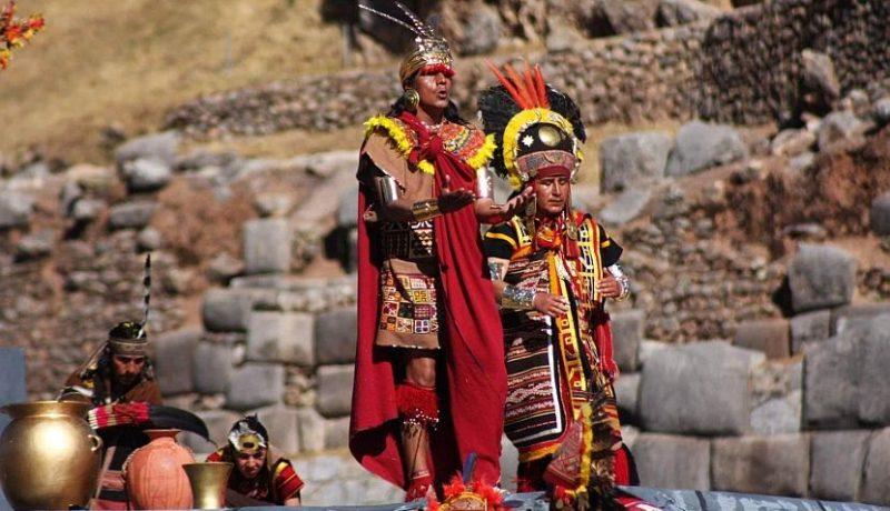 Solsticio de invierno en el sur o Inti Raymi