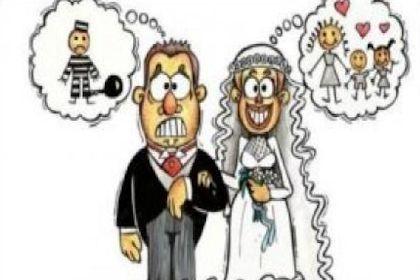 Los diferentes puntos de vista en el matrimonio