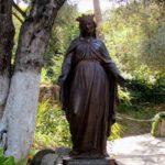 Canalizacion en casa de la Madre Maria en Efeso