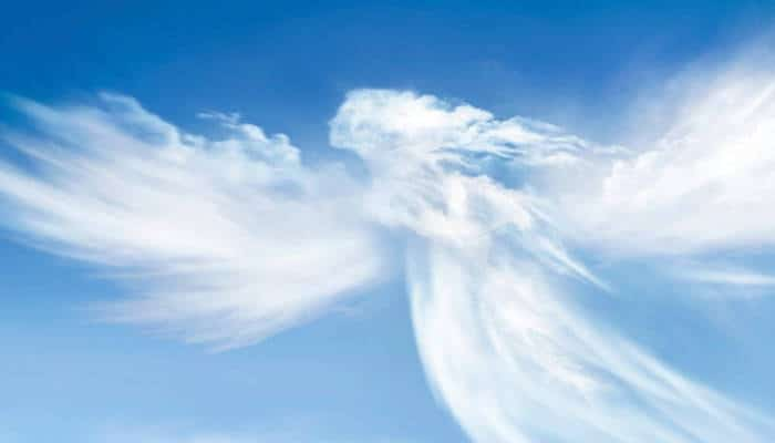 Angel serafin en la Isla de Creta