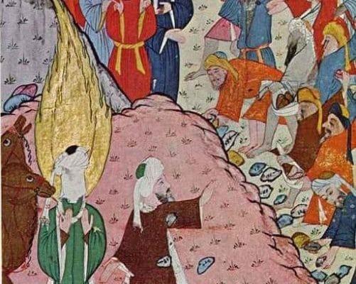 La revelacion del Coran a Mahoma