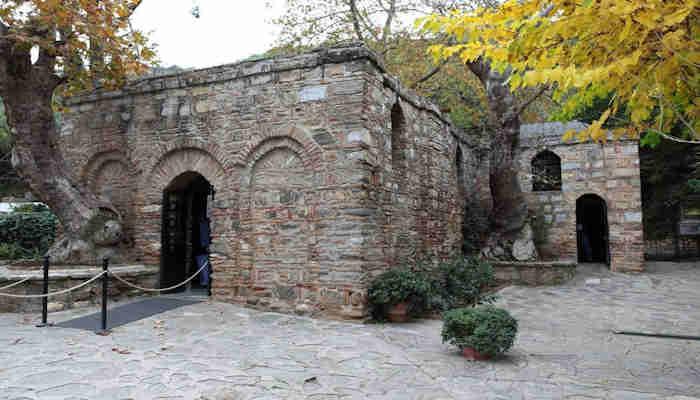 La casa de la Virgen Maria en Efeso
