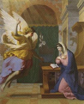 La Anunciacion Del Arcangel Gabriel A Maria