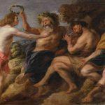 El dios Apolo, dios del arte de la adivinacion y de las artes