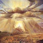 Shavuot: Moises recibe las tablas de la Ley en el desierto del Sinai