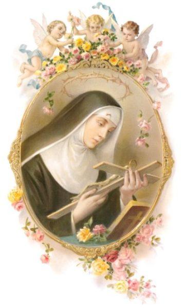 Santa Rita de Casia, anecdotas asombrosas.