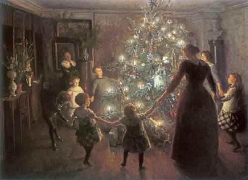 San Bonifacio y el arbol de Navidad