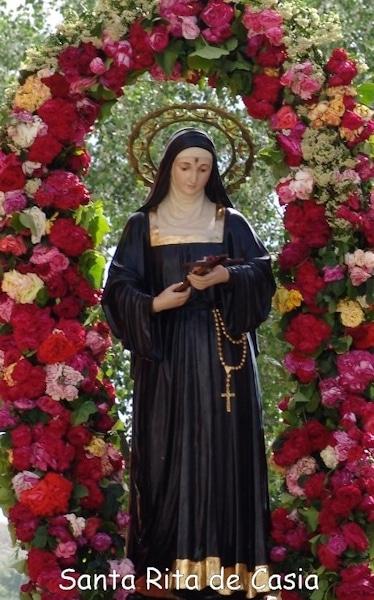 Santa Rita Y El Ritual De Las Rosas