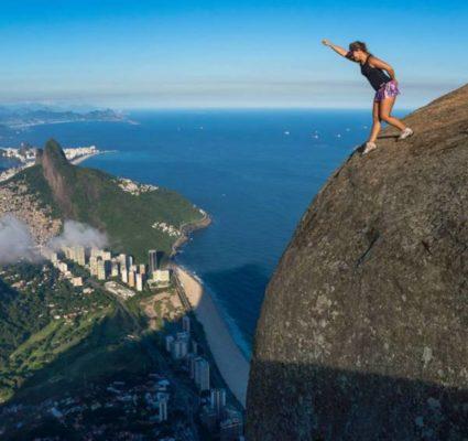 selfie peligrosa en Brasil