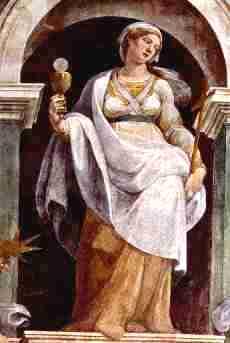 diosa de la confianza