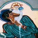 santo con cabeza de perro