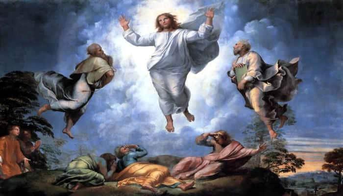 Exaltacion del Cristo en Gloria en La Transfiguracion