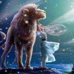 Transito lunar en Leo