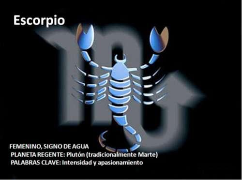 Signo de Escorpio