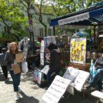 La place du Tertre en el corazon de Montmartre
