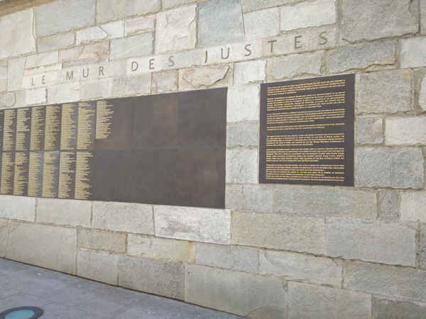 Memorial de la Shoah en Paris