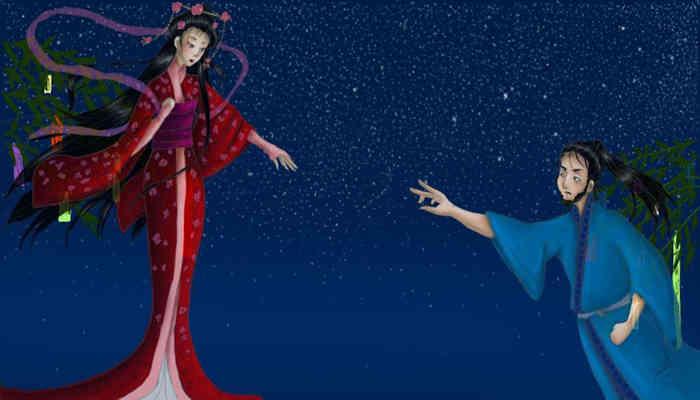 Tanabata se inspiro en una leyenda de amor japonesa