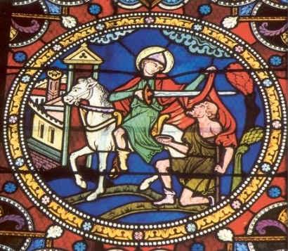 San Martin de Tours y la caridad de Dios